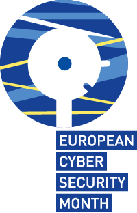 Logo of European Cyber Security Month